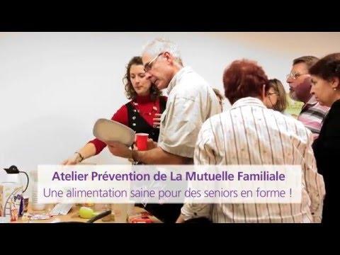 La Mutuelle Familiale Présente L'atelier  : Une Alimentation Saine Pour Des Seniors En Forme