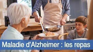 Maladie d'Alzheimer : comment aménager les repas ?