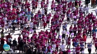 Unéo participe au rassemblement contre le cancer du sein