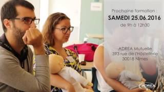 Adréa Mutuelle : Gestes 1ers secours aux enfants et nourrissons