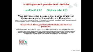 MASP (Mutuelle des Agents des Services Publique) - Groupe Entis Mutuelles