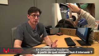 En orthodontie moderne, à partir de quel moment faut-il intervenir ?