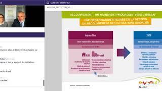 Protection sociale des TNS: ce qui évolue pour vous en 2018- Web conférence Eovi Mcd