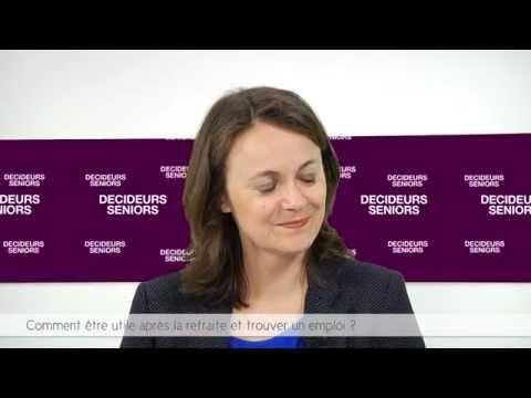 Décideurs Seniors TV / GDP Vendôme – Comment être Utile Après La Retraite Et Trouver Un Emploi ?