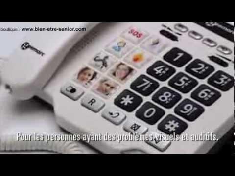 Telephone Photophone GEEMARC 100 - Boutique Bien-être Senior
