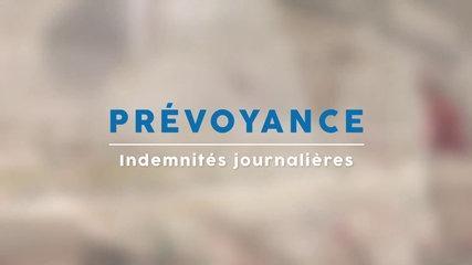 Prévoyance - Indemnités Journalières