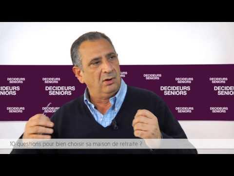 Décideurs Seniors TV / GDP Vendôme - 10 Questions Pour Bien Choisir Sa Maison De Retraite