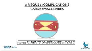 Diabétiques de type 2 : risque de complications cardiovasculaires
