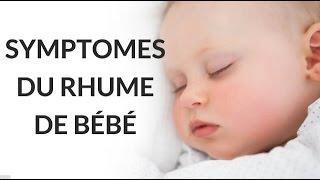 Origine et symptômes du rhume de bébé