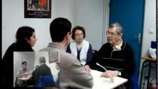 Interview d'un patient atteint de DMLA, Mr Albin TAESCH, ainsi que de sa femme.