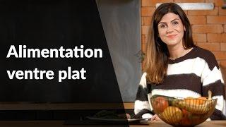 Alimentation ventre plat
