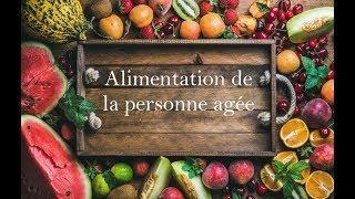 Conseils diététique: alimentation de la personne âgée