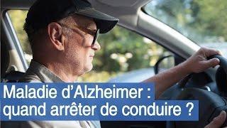 Maladie d'Alzheimer : quand arrêter de conduire ?