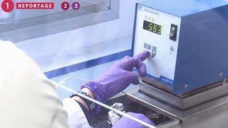 Fonctionnement de nanomédicament sur les cellules cancéreuses