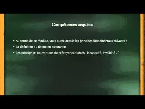 Principes De Base D'un Contrat De Prévoyance