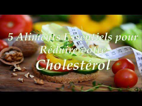 ✔ 5 Aliments Essentiels Pour Réduire Votre Cholestérol